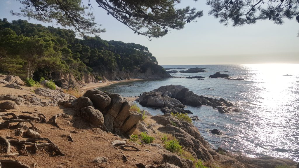 De Cap Roig a la platja de Castell
