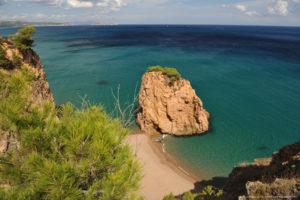 De la platja del Racó a la platja de Sa Riera